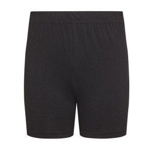 David Luke School Uniform Girls Stretch Cotton PE Sports Childrens Gym Stretchy Shorts