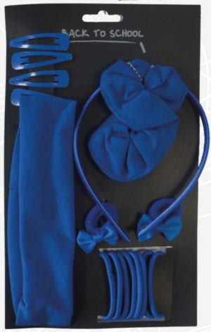 Back To School Hair Accessories Royal