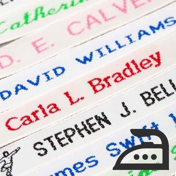 Name Labels – Woven Sew-on