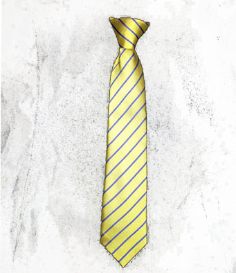 St Mary's Evesham  Clip on Tie